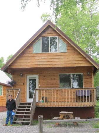 Susitna River Lodging: Cabin we stayed in