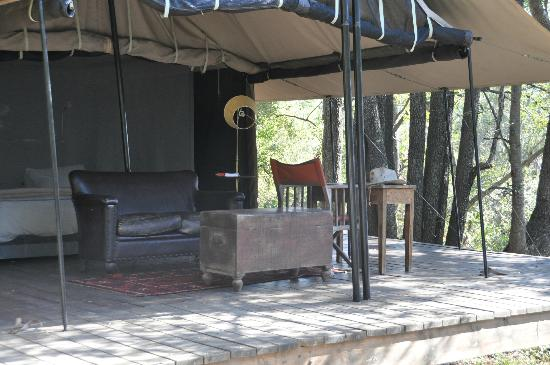 Honeyguide Tented Safari Camps: Comfortable sitting area