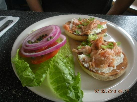 Studio One Cafe: Lox and Bagel