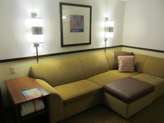 Hyatt Place Bethlehem: Big Couch