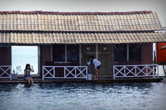 Wisma Apung Karimunjawa: the place