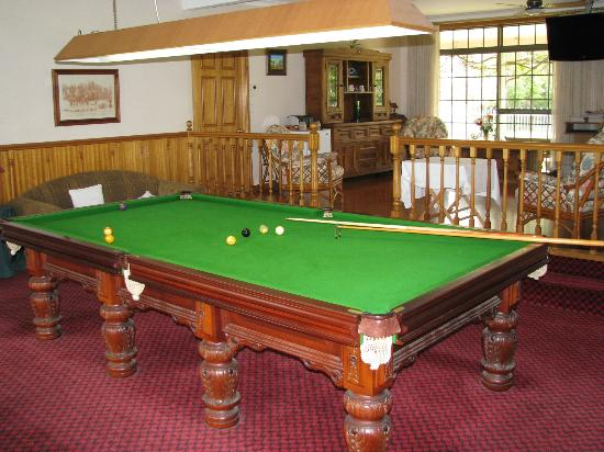 Hill Top Country Guest House: Billiards Room in Guest House