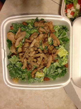 Gimli, Canada: Medium Chicken Caesar Salad