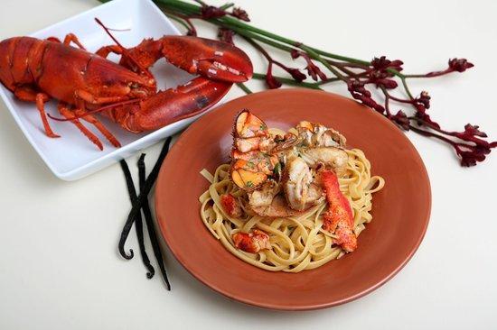 MezzaNotte: Lobster Pappardelle