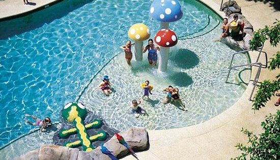 Ashmore Palms Holiday Village: Mushroom Lagoon