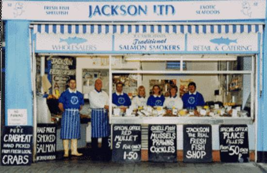 Jacksons: Fishmonger shop front