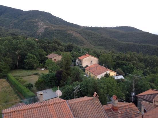 Alla Battuta : vue de la terrasse^^