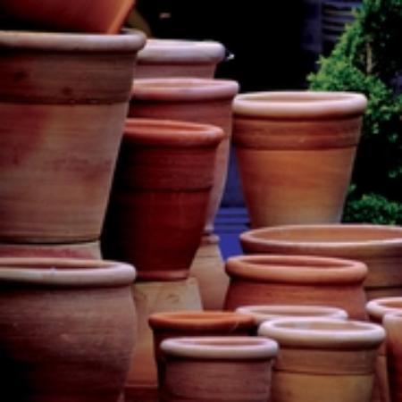 Grasmere Garden Village: Pots