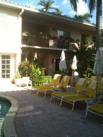 La Casa Hotel: Courtyard