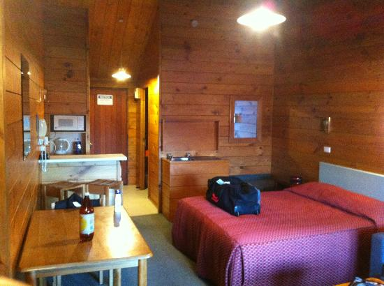 Aspiring Lodge Motel : The warm and comfortable alpine style room