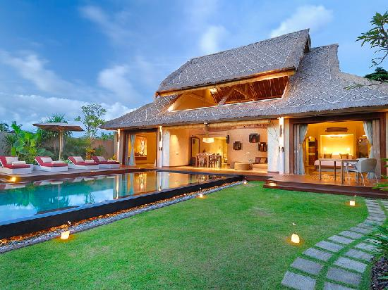 Space at Bali: Overall Villa View