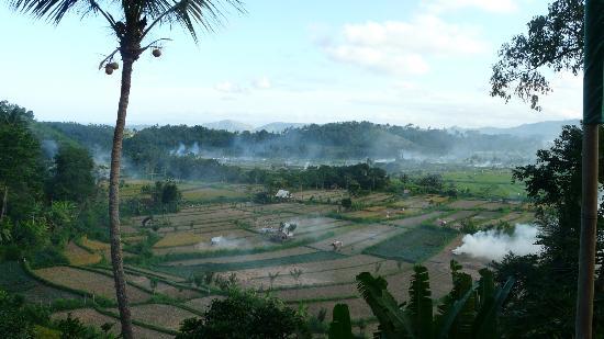 View from Kubu Carik Bali