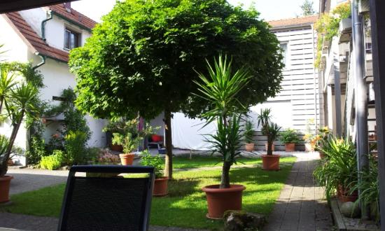 Pension Im Sunnegässle: garden-courtyard
