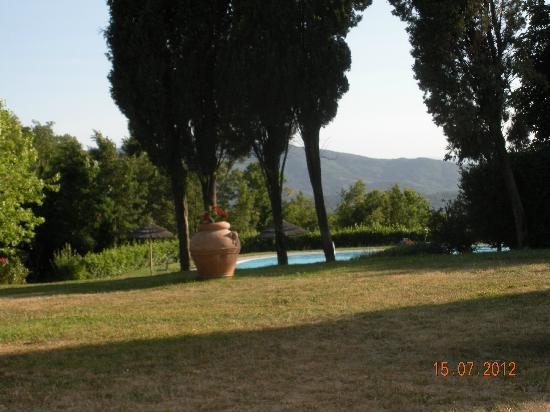 Hotel Badia di Pomaio: le jardin