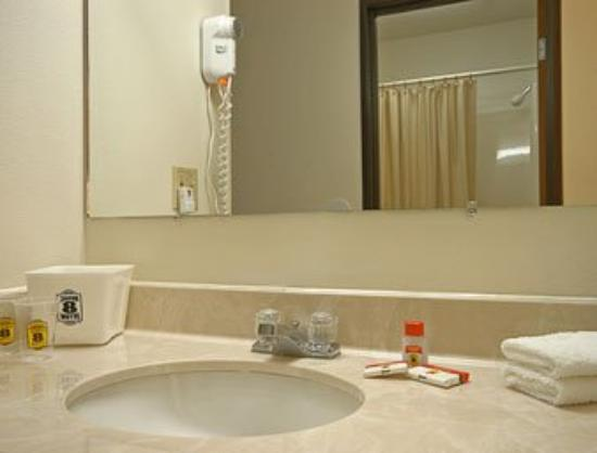 Super 8 Danville: Bathroom
