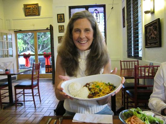 Mahina Cafe: Vegetarian Chili