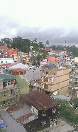 ثي ثاو - جاردينيا هوتل دالات: uitzicht vanuit hotelkamer 5 e etage 