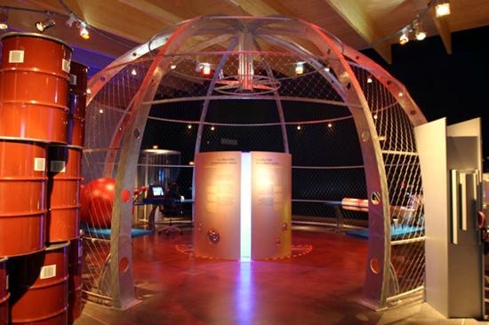 Le Visiatome : La sphère de la radioactivité