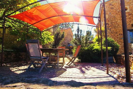 Les Boudines : Une des terrasses