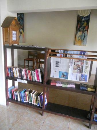 Cafe Kendi: Our unique swap library