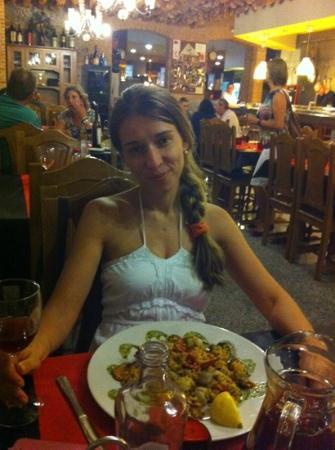 Restaurante Plaza Mayor: la paella