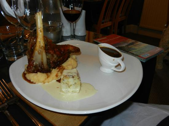 Brookhouse Guest House: Lamb Shank