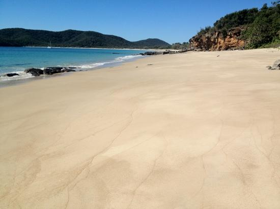 Great Keppel Island Holiday Village: no footprints!!