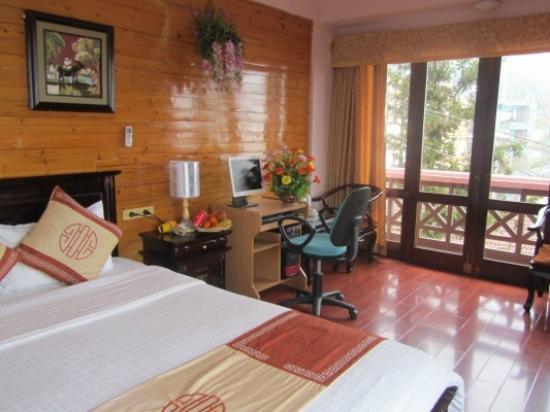 Sapa Global Hotel: my room