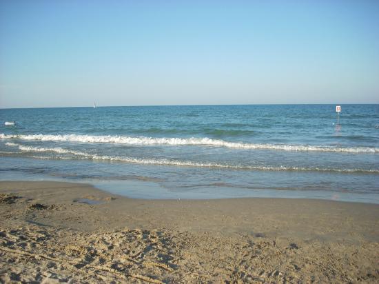 Hotel Saint Tropez: Spiaggia