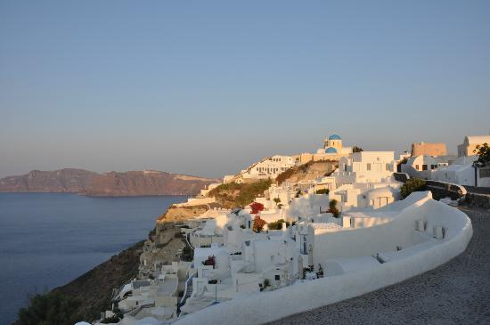 Alexander's Boutique Hotel of Oia: View of the caldera.