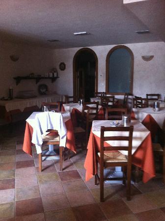 Tre Monti: sala colazione