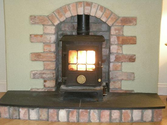 Ballycanal Self Catering: Cosy wood-burning stove
