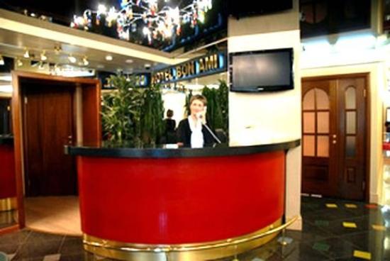 Hotel Bon Ami: Reception