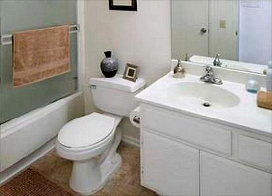 National at Archstone University Towne Center : Bathroom
