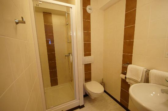 Hôtel Restaurant du Lauragais : Salle de bains