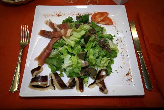 Hôtel Restaurant du Lauragais : Salade Hôtel du Lauragais