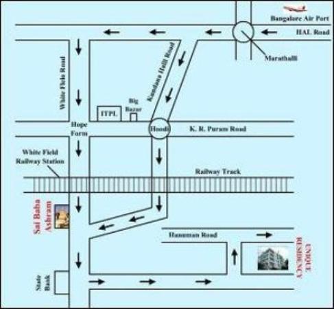 Hotel Manu Residency: Map