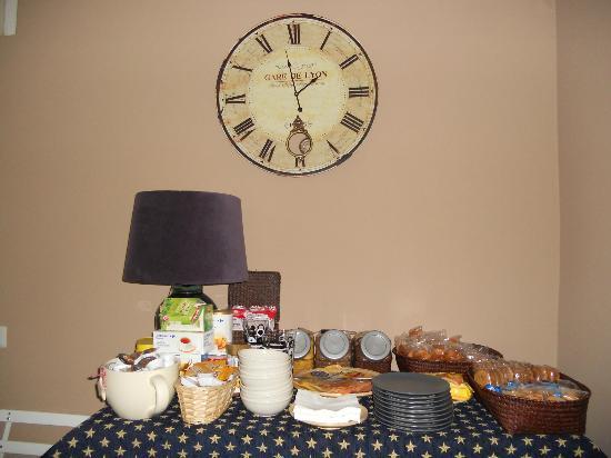 La Casa  di Momi: Il buffet per la colazione