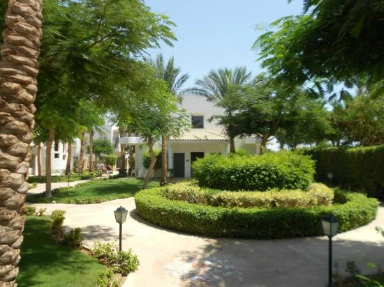 Jaz Fanara Resort & Residence: Entrance to the rooms