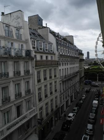 Le Pradey: View from the Louvre room on the 4th floor