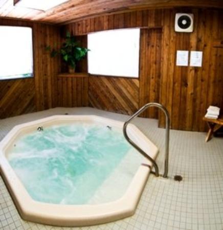 Snow Valley Motel & RV Park: Hot Tub