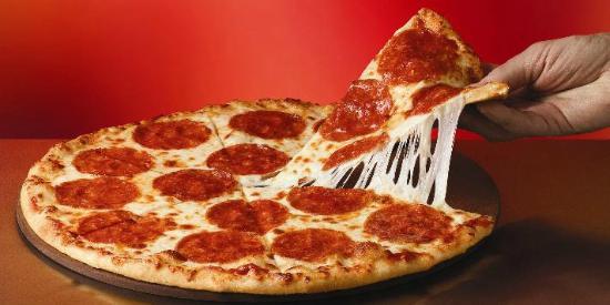 Cala la Pasta Italian Restaurant and Pizzeria : Pizza fatta in casa.....