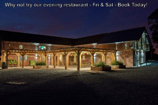 Fordhall Organic Farm: Our sustainable building on a Friday restaurant night