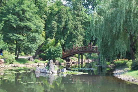 Japanese Garden - Szczytnicki Park: Small bridge