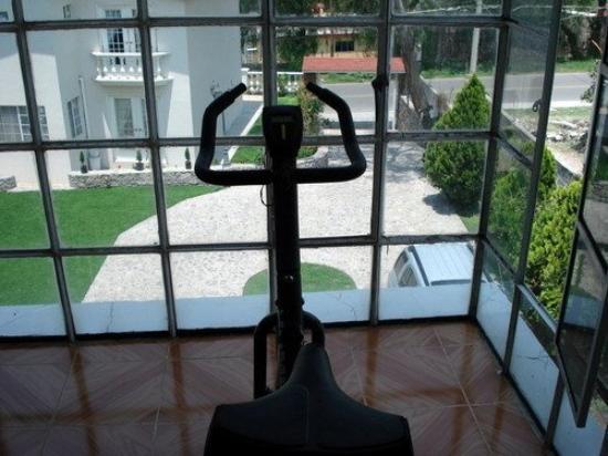 Del Angel Hotel : Gym