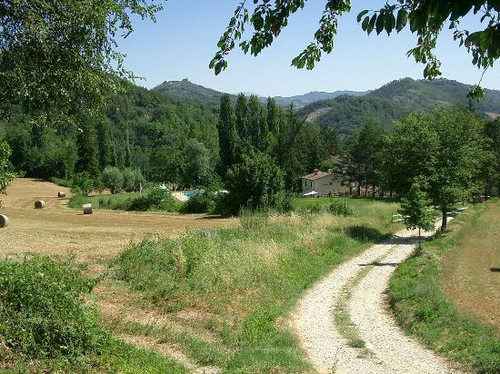Countryhouse L'Ariete: Zufahrt