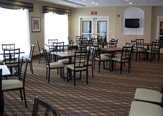 Breakfast room picture of days inn san antonio near at t for Dining near at t center san antonio