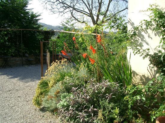 Countryhouse L'Ariete: Garten