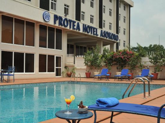 Protea Hotel Asokoro: Exterior Signature Pic