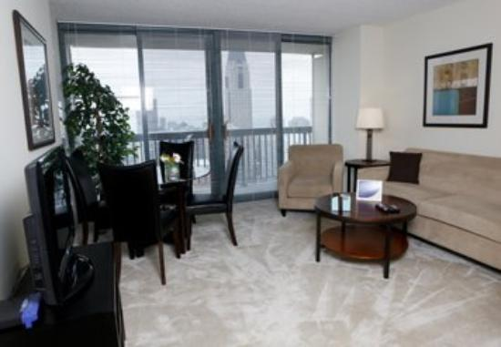 Stan Properties Suites at 1 W Superior Place: Living Room